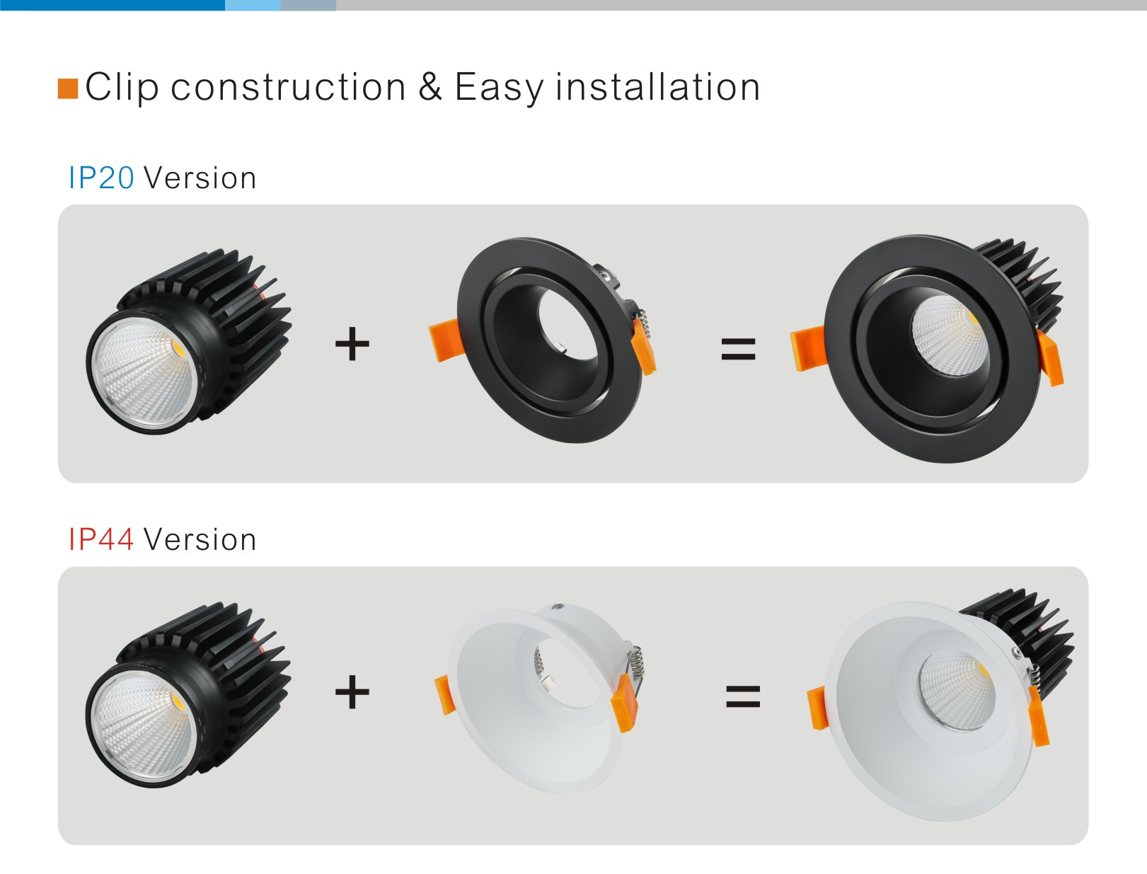 IP44 COB LED Downlight
